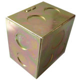 정밀도 OEM 구멍을 뚫는 부속 금속 상자