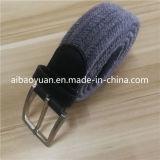 Tecidos de fios de algodão cinza correia elástica, Correia de estilo de moda