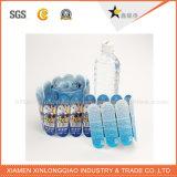 prix d'usine étanche personnalisé vide autocollants polyester brossé