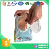 ハンドルのタイが付いている香水のHDPEの赤ん坊のおむつ袋