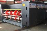 El tipo de cadena impresora multicolora Slotter del alimentador muere el cortador