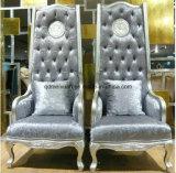 Neuer klassischer europäischer Hoher-Zurück Stuhl-Stuhl-Tuch-Kunst-Sofa-Stuhl-entspannender Luxuxstuhl, zum des erstklassigen Sofa-Stuhls (M-X3270) zu behandeln