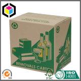 Персонализированная коробка печати цвета одностеночная Corrugated упаковывая