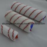 Pile 12mm Red Stripe rouleau à peindre en nylon pour tous les peinture