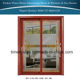 内部および外部の装飾のためのアルミニウム金属のドア