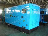 Ce/Soncap/CIQの承認のWeifangエンジンR6105zldを搭載する112.5kVA無声ディーゼル発電機