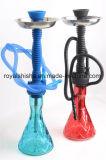 La cheminée de silicones de 2016 Shisha et le narguilé de vase à plastique moyens les plus neufs