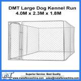 Serviço Pesado Dog Kennel Lucky Dog Canil Elo da Corrente Galvanizado