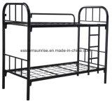 ルオヤンの学校家具の安の大人の二段ベッド/金属の二重二段ベッド