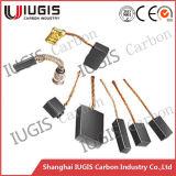 Escova de carbono para uso do motor elétrico