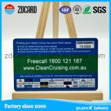Progettare la scheda per il cliente in bianco di plastica stampabile di identificazione del regalo del PVC