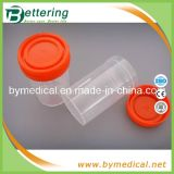 Plastic jetable Urine Cup Container avec Screw Cap