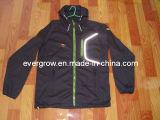 Windproof y chaqueta exterior resistente al agua (J023)
