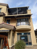 El pabellón de aleación de aluminio hermoso de Roofshade del toldo de Strong& Lluvia-Vertió la vertiente de la lluvia de la vertiente de Sun