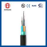 Câble plat extérieur de fibre de 144 faisceaux pour FTTH Gydts