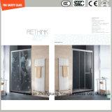 la impresión del Silkscreen de 4-19m m/el grabado de pistas ácido/helaron/el plano del modelo/doblaron el vidrio templado/endurecido de la seguridad para la puerta/la puerta de la ventana/de la ducha en hotel y hogar