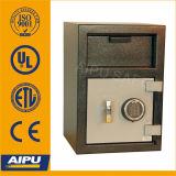 Uipa Coffre de dépôt à chargement frontal avec verrouillage Combiantion mécanique (FL2014M-E / organe de 3mm, 12mm Porte / 514 x 356 x 356)