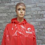 昇進のロゴによって印刷されるNon-Disposable Rainwearをカスタマイズしなさい