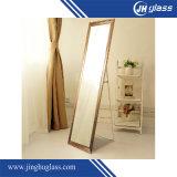 Miroir de dressage permanent Miroir de plancher élevé