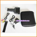 아날로그 감시 카메라를 위한 소형 3.5 인치 LCD 모니터 CCTV 검사자