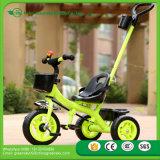 2016 heißes verkaufendes beste Sicherheits-preiswertes Preis-Kind-Stoß Trike Kind-Dreirad für Baby, Metallrahmen, EVA/Luft-Reifen-Baby-Dreirad