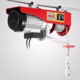 Подъем кабельной проводки ворота электрической лебедки 110V подъема электрической лебедки 1320lbs миниый электрический