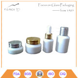 botella de perfume de cristal blanca 5ml, botella de petróleo esencial