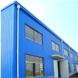Estructura de acero de buena apariencia Showroom con la construcción de muro cortina de vidrio
