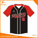 Baseball Jersey di sublimazione degli abiti sportivi di Healong per usura della squadra