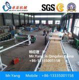 PVC 가짜 대리석 돌 생산 라인 PVC 모조 대리석 장 밀어남 기계