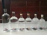 духа вина 750ml 700ml бутылки белого ясного стеклянные с отделкой затвора пробочки