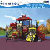 Speelplaatsen van Playsets van de Dia van jonge geitjes de Openlucht Plastic hd-077A
