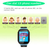 Hot Selling Sos Kids GPS Tracker Watch com tela de toque