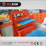 Dx 1100 het Gekleurde Verglaasde Broodje die van de Tegel van het Dak van het Staal Machine vormen