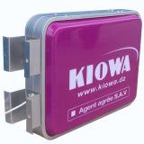 De hoge Verlichte Helderheid ondertekent Plastic LEIDENE Lightbox voor Winkel/Opslag