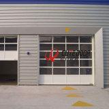 外形図の明確な部門別の透過ガレージのドア