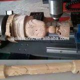 1325 1530 máquina de estaca de madeira do router do CNC de 4 linhas centrais com linha central giratória