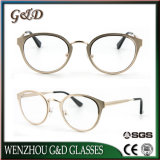 Novo design de moda espetáculo inoxidável quadros óptica óculos de óculos
