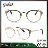 Combinatie Eyewear van de Acetaat van het Metaal van de Voorraad van het Ontwerp van de manier de Nieuwe In het groot