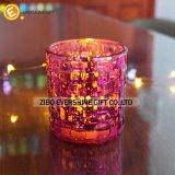 Supporto di candela di vetro fatto in Cina
