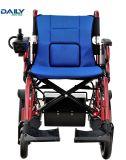 Ökonomisches Aluminium, das elektrischer Strom-Rollstuhl Dp602 faltet