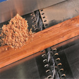 Holzbearbeitung-Prüftisch-Hobel mit schraubenartigem Messerkopf