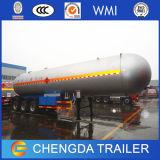 판매를 위한 세 배 차축 58000L LPG 프로판 탱크 트레일러