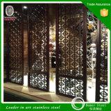 Bâtiment de construction Diviseur de salle d'écran pliante Inox pour Dubai Metal Work Project