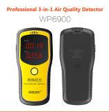 Wp6900 Testeur de pollution de l'air numérique portatif pour détecter le formaldehyde et la télévision