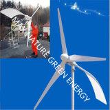 Generando potencia de la apagado-Red con la electricidad del viento (500W-50kw)