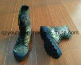 Het Kant van de Mensen van de manier op Laarzen van het Leger van de Schoenen van de Camouflage van het Leger de In te ademen