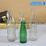 Leeres Getränkeglasflasche, Wegwerfsaft-Flasche