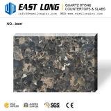 Искусственний Countertop камня кварца с цветом гранита для конструкции кухни