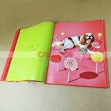 Смещенная книга печатание книга в твердой обложке Casebound